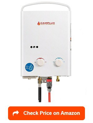Camplux 5l Portable Propane Tankless Water Heater