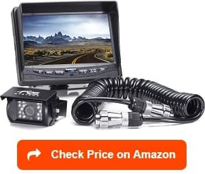 rear view safety rvs-770613 rv backup camera system