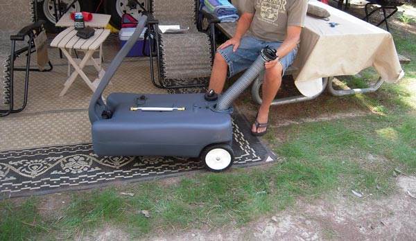 RV Portable Waste Tank Guide