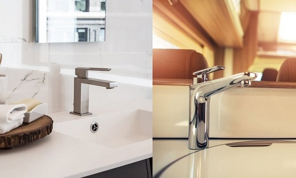 rv faucets vs home faucets