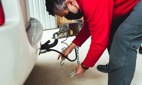 how to install a sway bar on a travel trailer