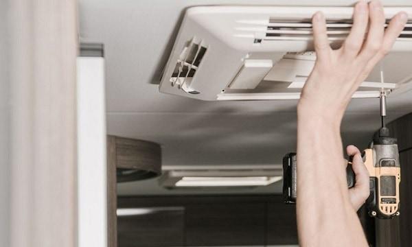 how to quiet rv air conditioner